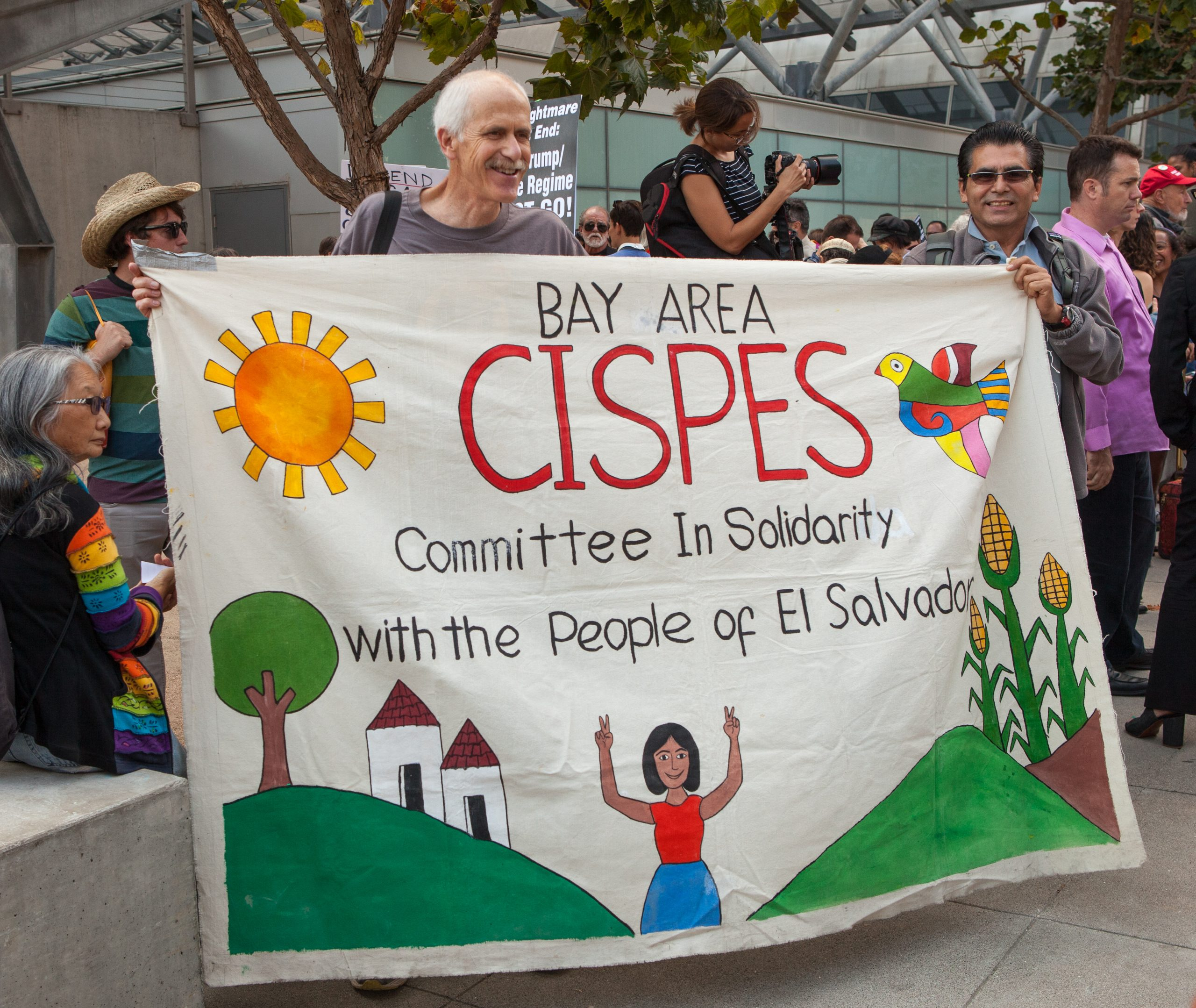 CISPES members rally to defend DACA (Wikimedia Commons)
