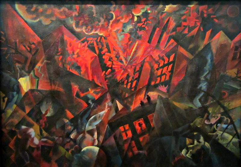 """George Grosz, """"Explosion, 1917"""" ( Quentin Verwaerde / flickr)"""