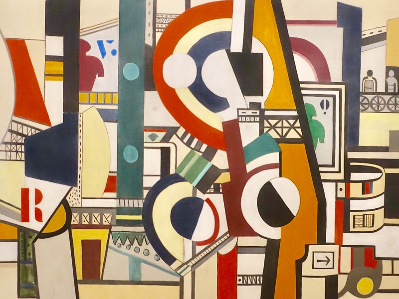 Discs in the City, 1920, by Fernand Leger (Gerry Popplestone / flickr)