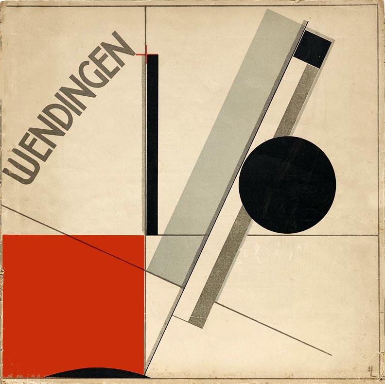 El Lissitzky. Wendingen, Series 4, Nº 11, 1921 (Halloween HJB / flickr)