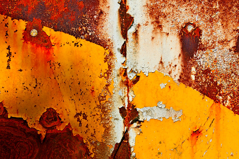 Etienne, rusty abstract / flickr