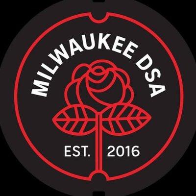 Milwaukee DSA logo